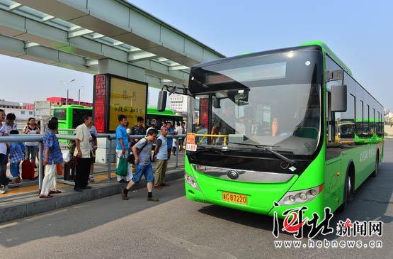 秦皇岛投用208辆新能源公交车