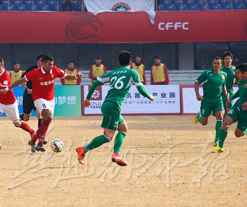 2月16日,河北华夏幸福足球队通过官方微博宣布,河北华夏幸福征战2015