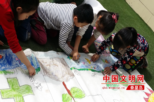 """秦皇岛和平花园幼儿园举办""""世界地球日""""环保主题活动"""