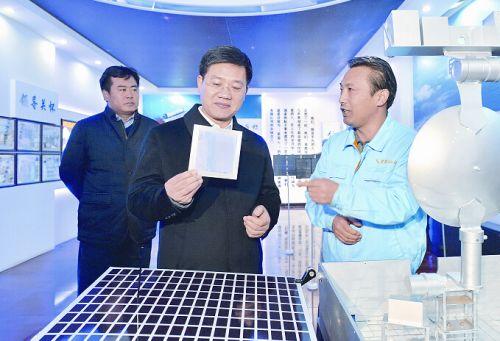 秦皇岛市委书记孟祥伟到经济技术开发区调研