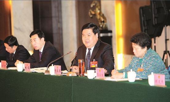 秦皇岛市长张瑞书参加海港区和昌黎代表团审议
