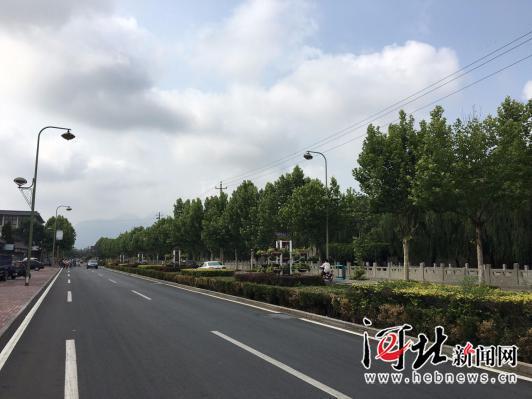 秦皇岛山海关区街景整治道路提升工作齐头并进