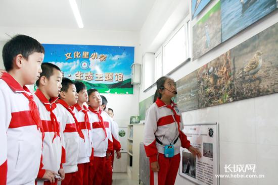 秦皇岛市首个校园鸟类生态主题馆落成开馆(图)